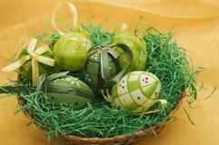 пасхальные яйца пластичные Стоковое Изображение