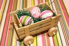 пасхальные яйца поставки стоковые фотографии rf