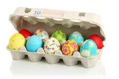 пасхальные яйца собрания Стоковая Фотография