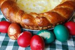 пасхальные яйца торта традиционные Стоковое Изображение