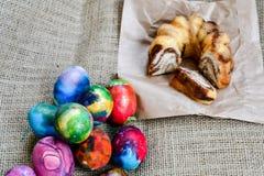 пасхальные яйца торта стоковое фото
