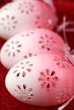 пасхальные яйца цветистые Стоковая Фотография RF
