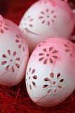 пасхальные яйца цветистые Стоковое Фото