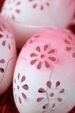 пасхальные яйца цветистые Стоковое фото RF