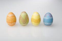 пасхальные яйца четырехрядные Стоковое Фото