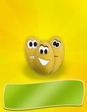 пасхальные яйца шаржа смешные Стоковое Изображение RF