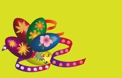 пасхальные яйца иллюстрация вектора