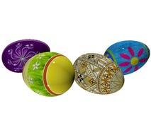 пасхальные яйца 3d Стоковая Фотография RF