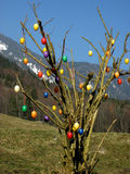 пасхальные яйца colourfull некоторые Стоковое фото RF