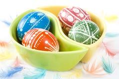 пасхальные яйца handmade Стоковые Изображения RF