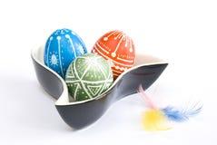пасхальные яйца handmade Стоковое фото RF