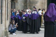 Пасха в Галиции Испании Стоковая Фотография RF