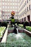 Пасха в Нью-Йорке, центре Рокефеллер Стоковые Фотографии RF