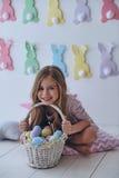Пасха ее любимый праздник Стоковое Фото