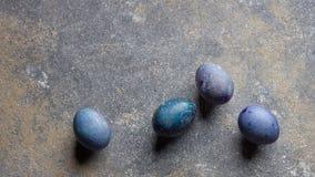 Пасха покрасила яичка Стоковые Изображения RF