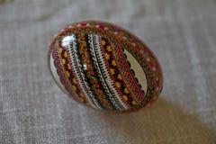 Пасха покрасила яичко Стоковые Изображения