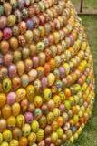 Пасха украсила яичка Стоковое Изображение RF