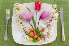 пасха цветет весна установки места Стоковое фото RF