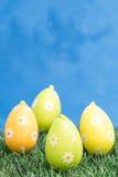 4 пасхального яйца Стоковые Изображения RF