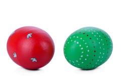 2 пасхального яйца Стоковое фото RF