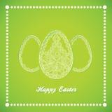 3 пасхального яйца Стоковые Фотографии RF
