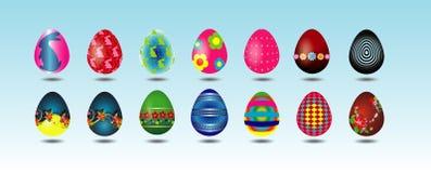 2 пасхального яйца Стоковая Фотография