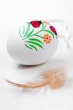 Пасхальное яйцо в крупном плане Стоковое Изображение RF