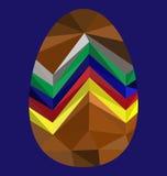 Пасхальное яйцо изображения полигона Стоковое Фото