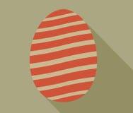 Пасхальное яйцо с длинной тенью Стоковые Фото