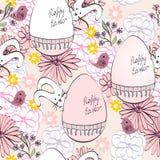 Пасхальные яйца вектора Стоковое Фото