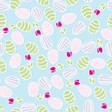 пасхальные яйца делают по образцу безшовное Стоковые Изображения