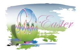 Пасхальные яйца картины Стоковая Фотография RF