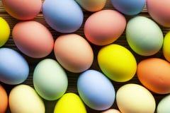 пасхальные яйца много Стоковое Изображение RF