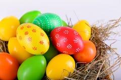 Пасхальные яйца на христианский праздник Стоковые Изображения RF
