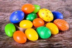 Пасхальные яйца на христианский праздник Стоковая Фотография