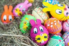 пасхальные яйца домодельные Стоковые Изображения RF