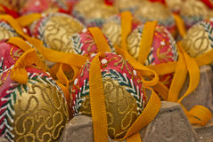 Пасхальные яйца от Европы Стоковые Фото