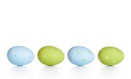 пасхальные яйца предпосылки изолировали белизну стоковое фото rf