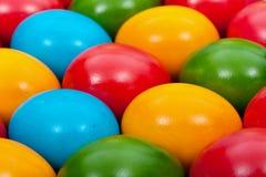 пасхальные яйца предпосылки установили 3 Стоковая Фотография