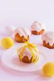 пасхальные яйца торта Стоковые Изображения