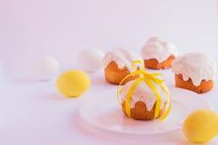 пасхальные яйца торта Стоковое Изображение RF