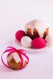 пасхальные яйца торта Стоковые Изображения RF