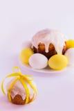 пасхальные яйца торта Стоковая Фотография