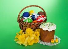 пасхальные яйца торта Стоковые Фото