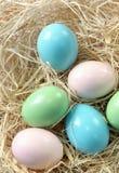 пасхальные яйца украшения стоковые изображения