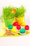 пасхальные яйца украшения Стоковое Изображение