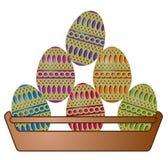 пасхальные яйца шара Стоковые Изображения RF
