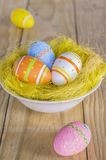 Пасхальные яйца стоковое фото rf