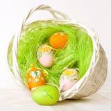 Пасхальные яйца. Стоковое Фото