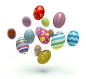 Пасхальные яйца. бесплатная иллюстрация